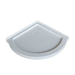 SALLY PL009S Round Acrylic Shower Base with drain CUPC approved