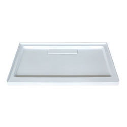 SALLY Rectangle Acrylic Shower Base with drain CUPC approved