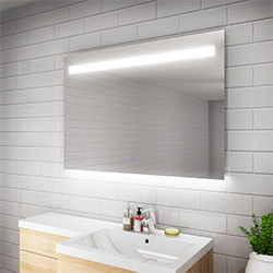 SALLY LED Bathroom Mirror Light Demister Sensor Touch
