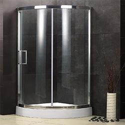 SALLY B007 Easy Clean Single Sliding Showr Enclosure
