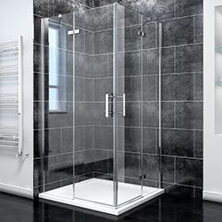 SALLY AWH71F4 Square Semi-frame Pivot Hinge Shower doors