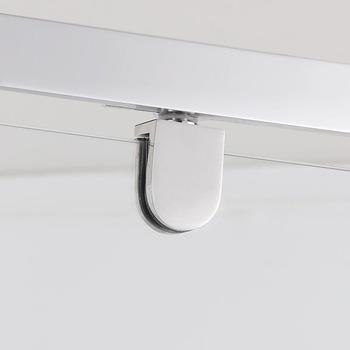 Sally A33 Neo Angle Diamond Aluminum Framed Tempered Glass